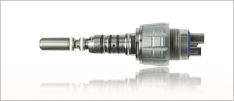 Kupplung mit Licht und Wasserregulierung f. Turbinen und ZEG mit Kavo Mulitflex Anschluss